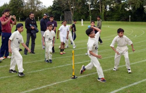 Barmy Army v NACC. Picture by Sam Bagnall